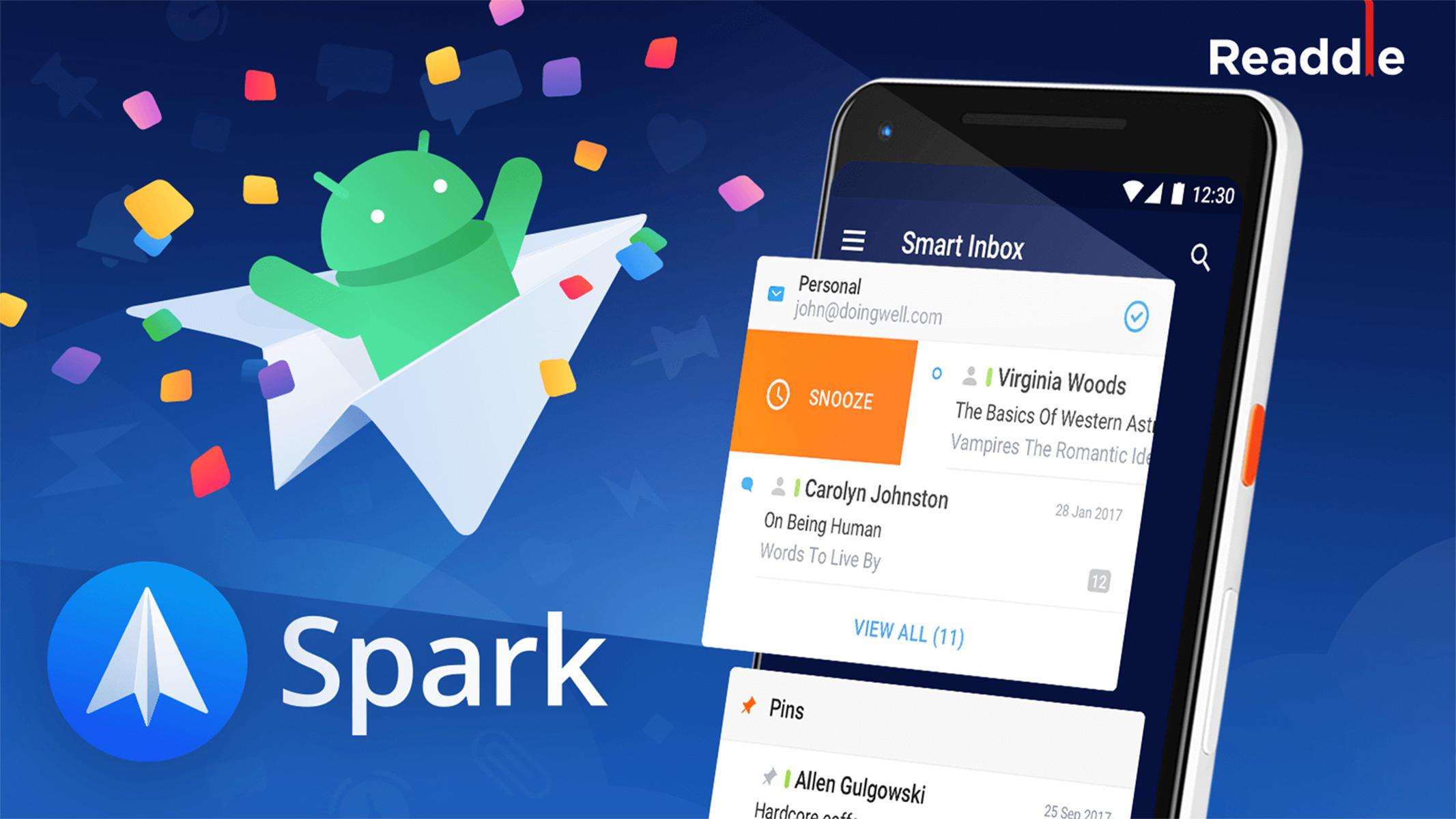 Spark : le nouveau client mail sur Android qui veut remplacer Inbox