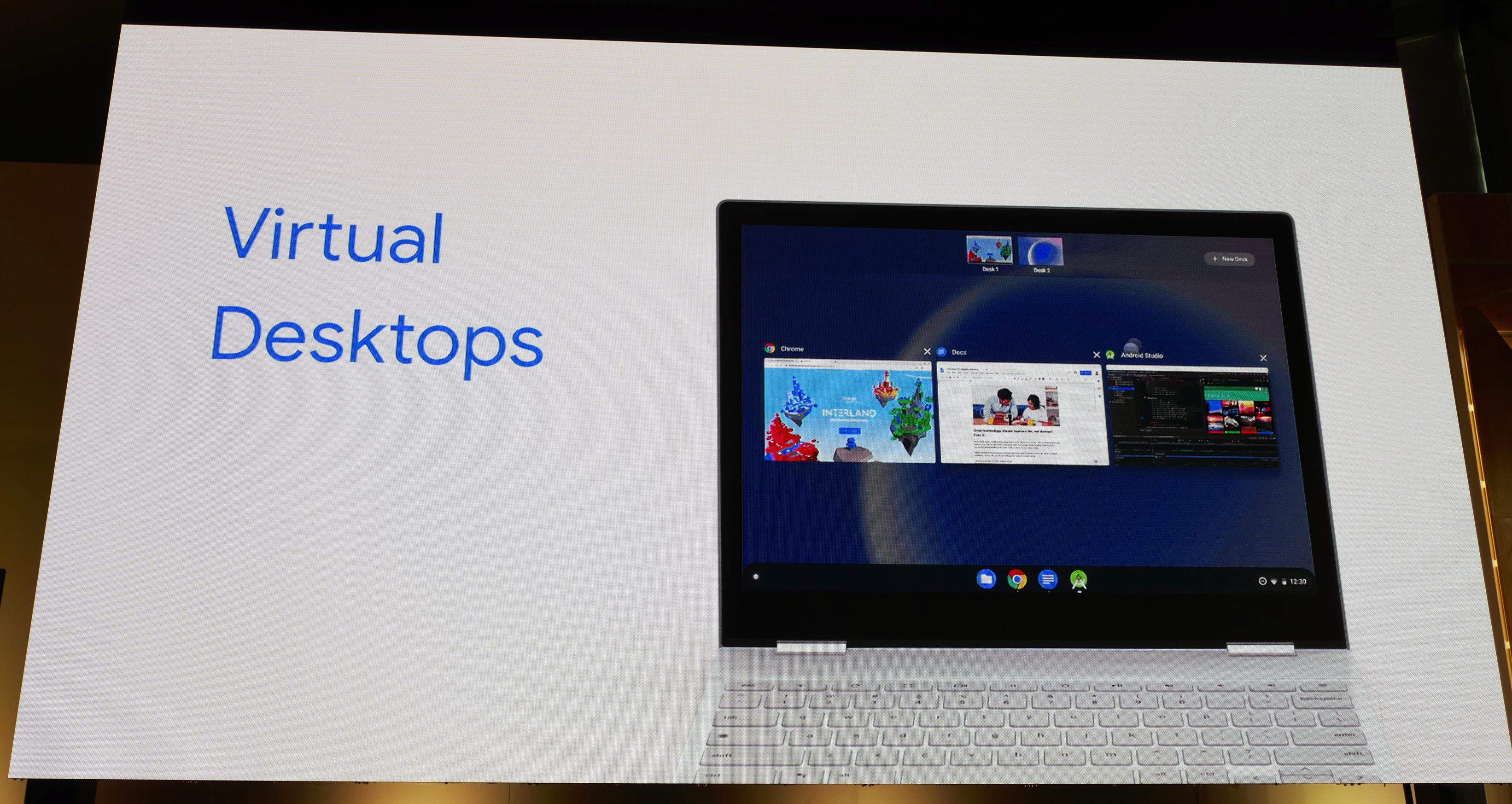Chrome OS va enfin proposer des bureaux virtuels