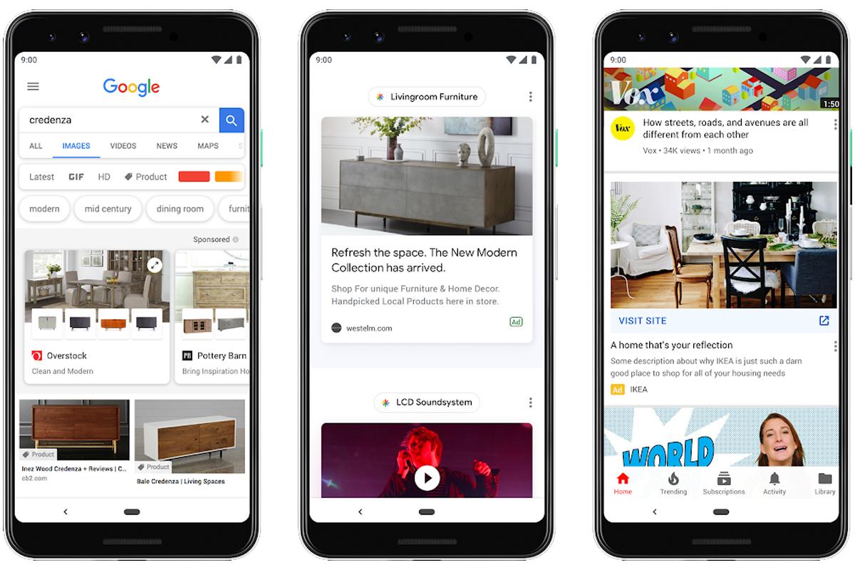 Google Discover : attention, la publicité arrive dans votre fil