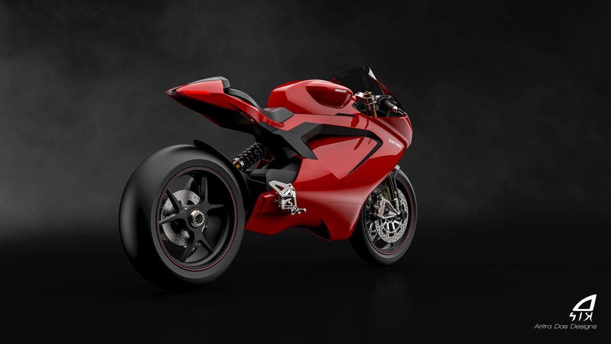 Ducati : une artiste imagine le design de la future moto électrique et le résultat est séduisant