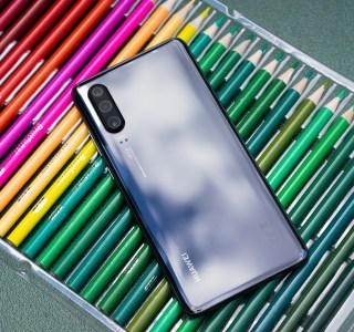 Appareil photo dans l'écran : Huawei aussi travaille dessus