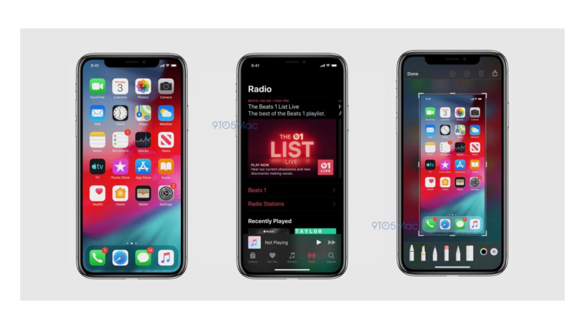 iOS 13 : des captures d'écran révèlent les nouveautés attendues