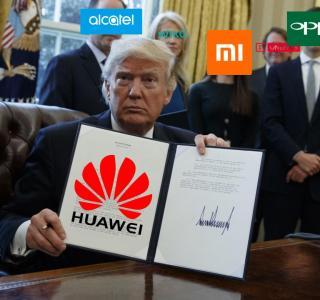 Oppo, OnePlus, Xiaomi, Alcatel, Lenovo, Motorola… risquent-ils d'intégrer la liste noire de Donald Trump ?