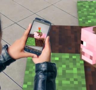 Minecraft Go ? Microsoft tease un nouveau jeu mobile en réalité augmentée