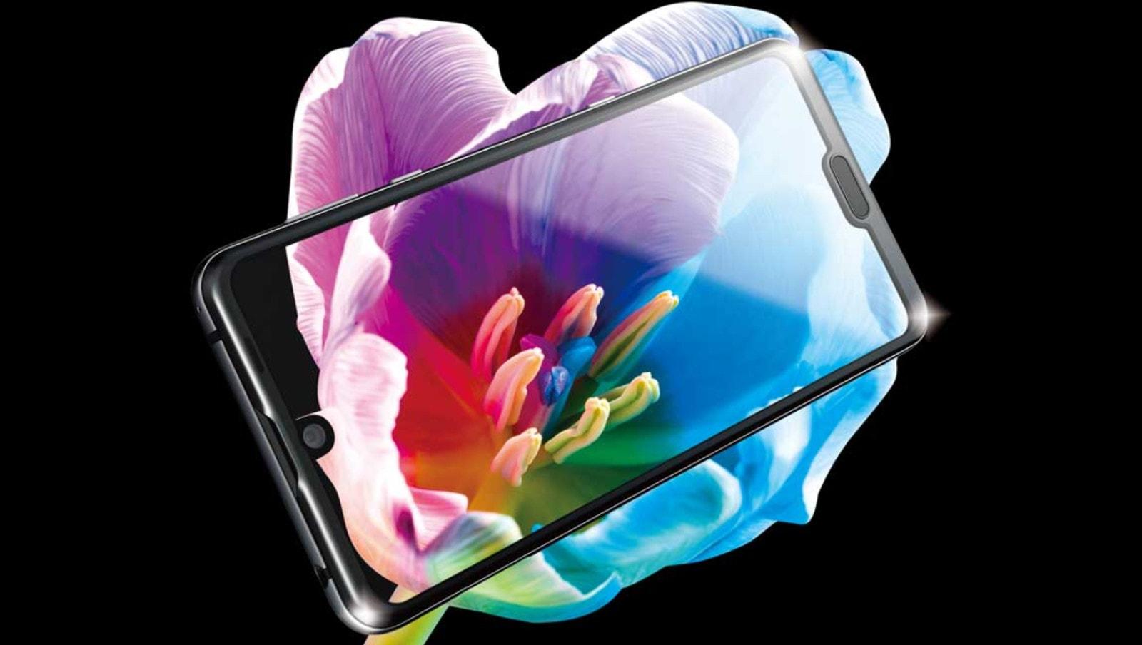 Deux encoches sur un smartphone : Sharp a osé avec l'Aquos R3