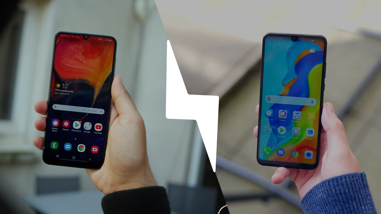 Samsung Galaxy A50 vs Huawei P30 Lite : lequel est le meilleur smartphone ? – Comparatif