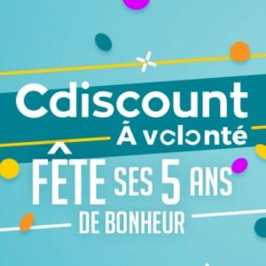 🔥 Bon plan : l'abonnement annuel Cdiscount à volonté passe à 5 euros (au lieu de 29 euros)