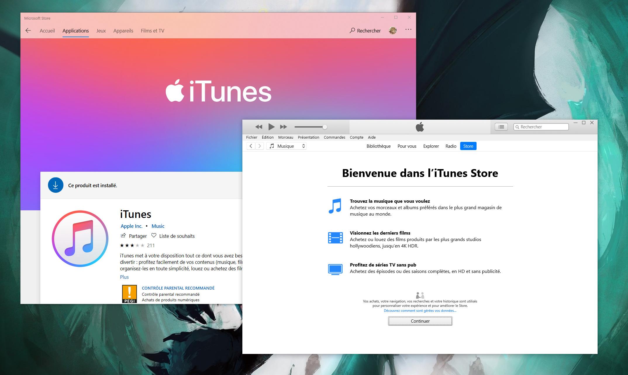 Sur Windows, iTunes n'est finalement pas encore mort