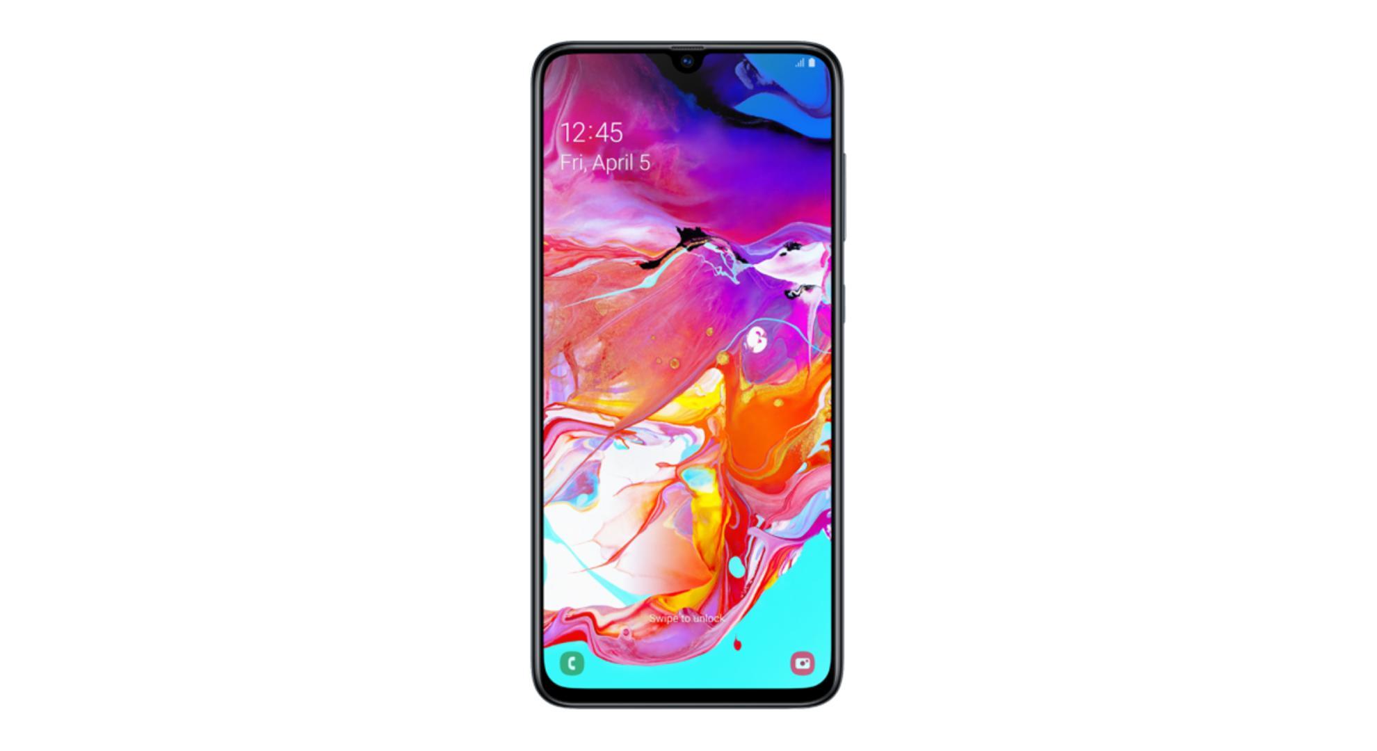 Le très grand Samsung Galaxy A70 à tout petit prix pendant les soldes 2020