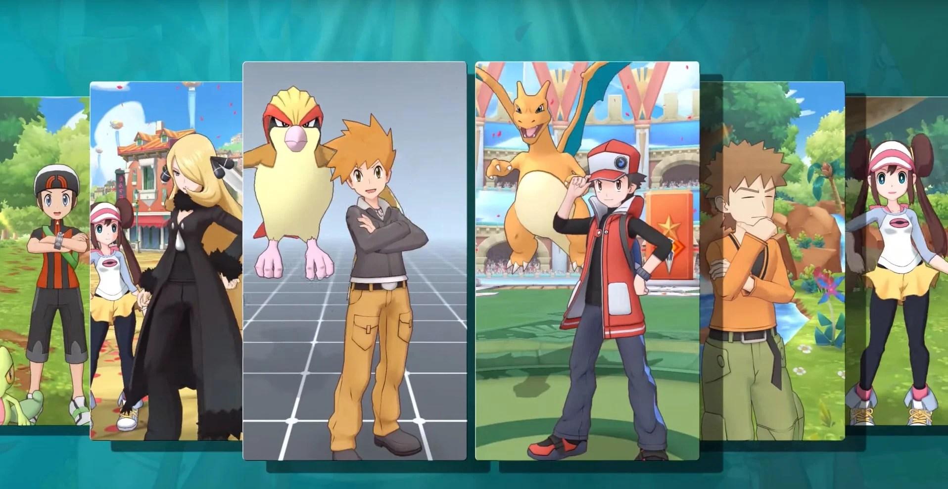 Pokémon Masters sur le Play Store : vous pouvez déjà vous préinscrire