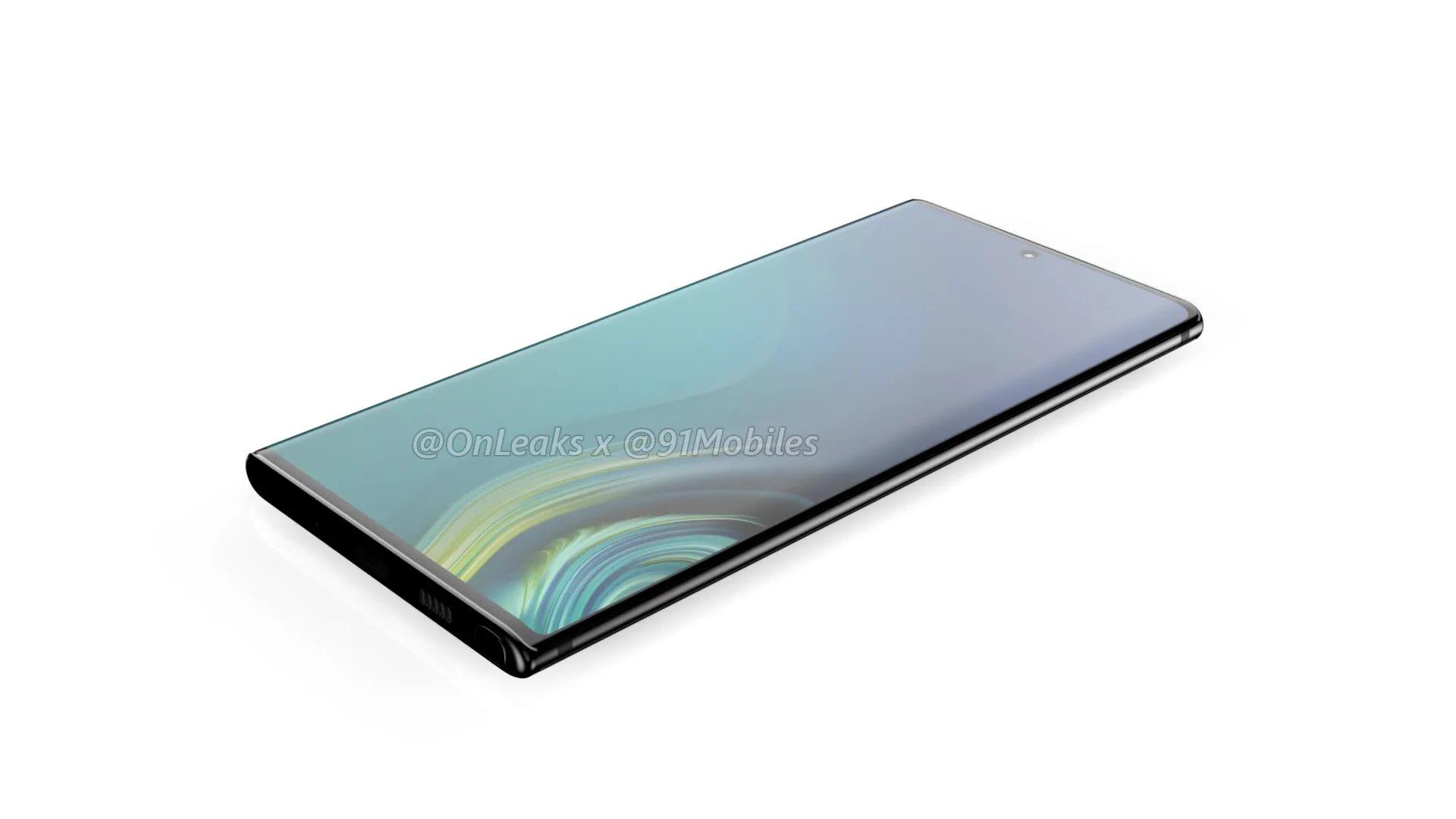 Samsung Galaxy Note 10 et Note 10 Pro : tailles d'écran, stockages et batteries se dévoilent