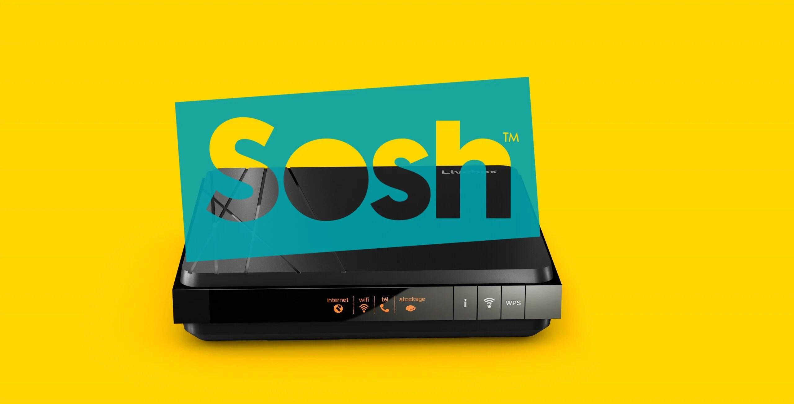 Très bonne nouvelle : la boîte Sosh (Fibre/ADSL) revient à 14,99 euros par mois pendant un an