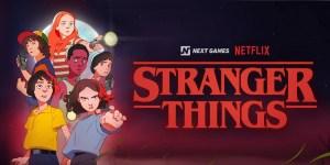 Voici les trois jeux vidéo annoncés par Netflix : deux titres Stranger Things et un titre Dark Crystal : Le temps de la résistance