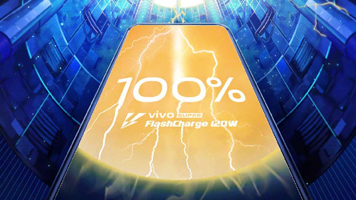 4000 mAh remplis en 13 minutes : Vivo dévoile une charge rapide à 120W