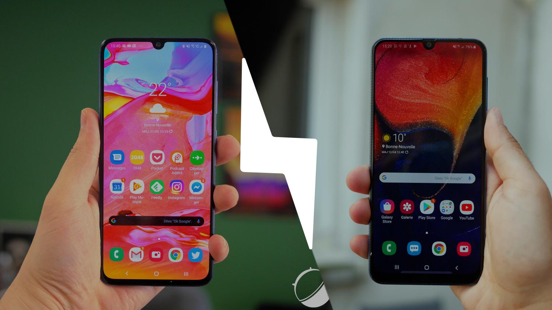 Samsung Galaxy A70 vs Samsung Galaxy A50 : lequel est le meilleur smartphone ? – Comparatif