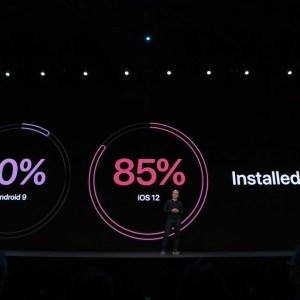 À la WWDC 2019, Apple se trompe encore de comparaison en taclant Android