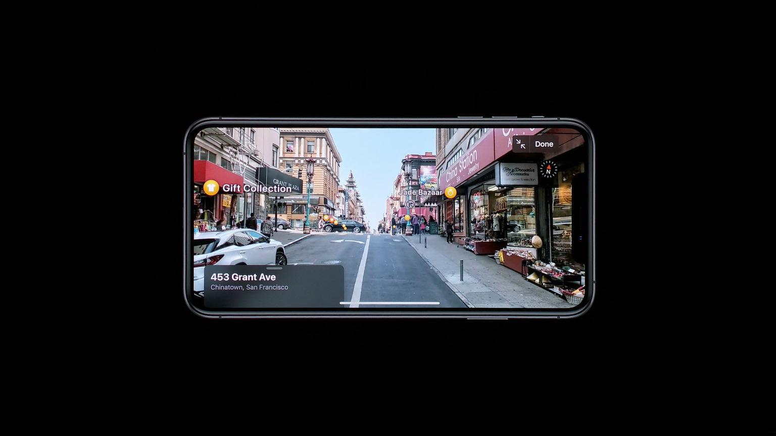Apple Plans se dote d'une fonction Street View avec une vue piéton en France