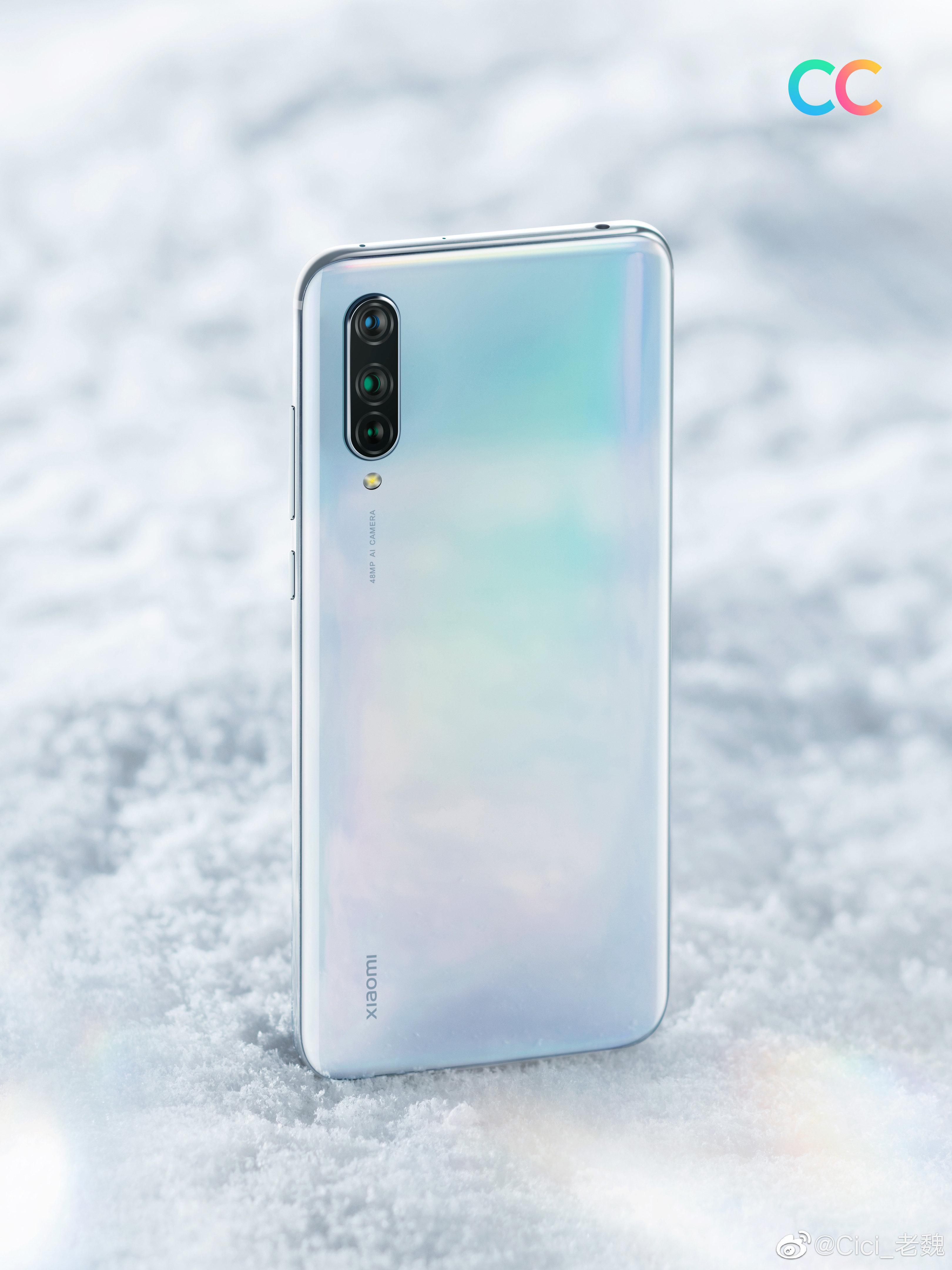 Xiaomi CC9 : voici les rendus officiels du nouveau smartphone