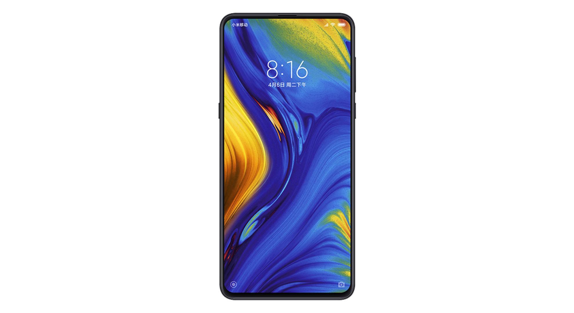 L'élégant Xiaomi Mi Mix 3 chute à 379 euros (au lieu de 529 euros à sa sortie)