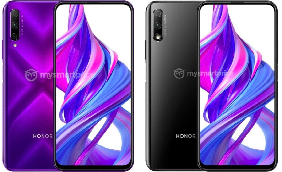 Honor 9X : son design sans encoche se dévoile dans des rendus presse