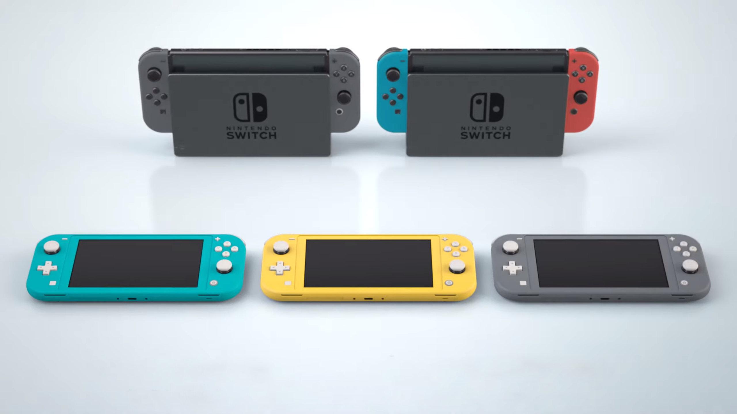 Nintendo Switch Lite : quelles différences avec la Switch normale ?