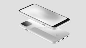Google Pixel 4 : voici son design qui signe la fin de l'encoche