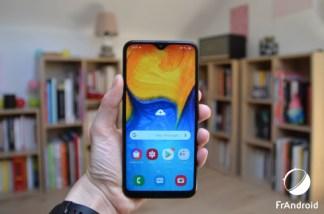 Test du Samsung Galaxy A20e : petit budget, petit format, petites performances