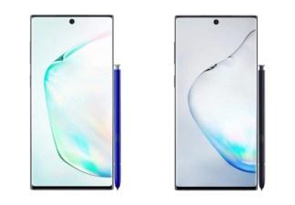 Samsung Galaxy Note 10 et Note 10+ : tout ce qu'on sait sur les nouveaux fleurons coréens