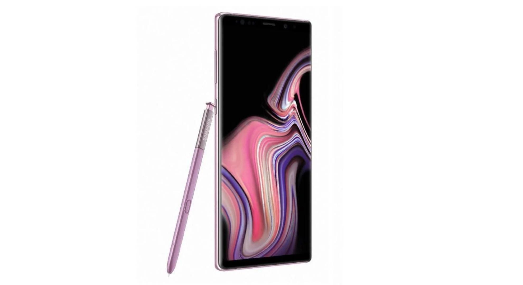 L'excellent Samsung Galaxy Note 9 descend au prix inédit de 529 euros