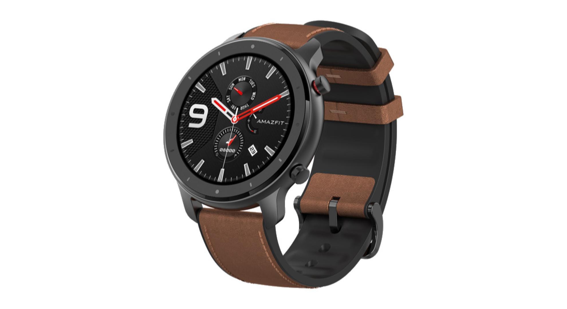 La montre Huami Amazfit GTR de Xiaomi profite déjà d'une baisse de prix