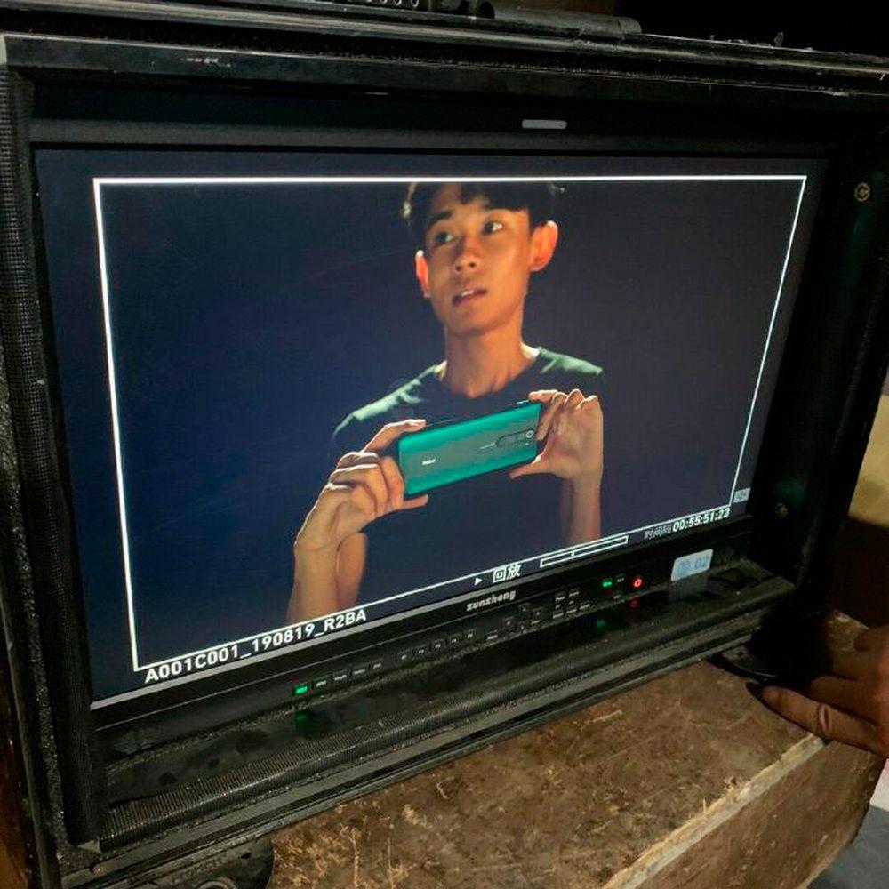 Le Xiaomi Redmi Note 8 Pro aurait été aperçu sur le tournage d'une publicité