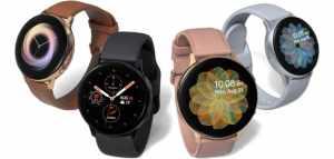 Samsung Galaxy Watch Active 2 : la nouvelle montre est officialisée