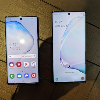 Samsung Galaxy Note 10 VS Galaxy Note 10+ : quelles différences ?