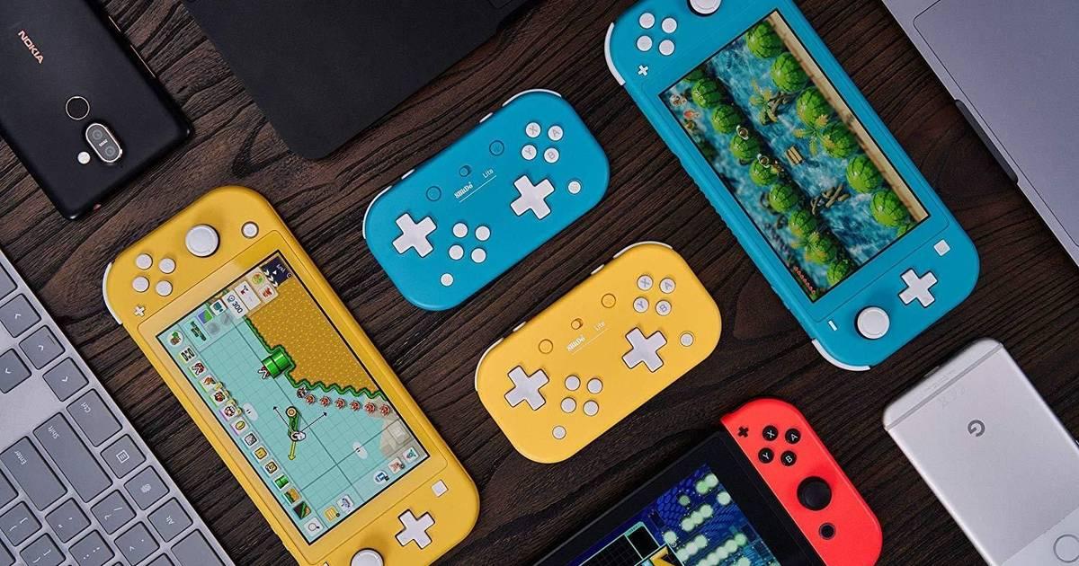 8BitDo Lite : des manettes spécialement conçues pour la Nintendo Switch Lite