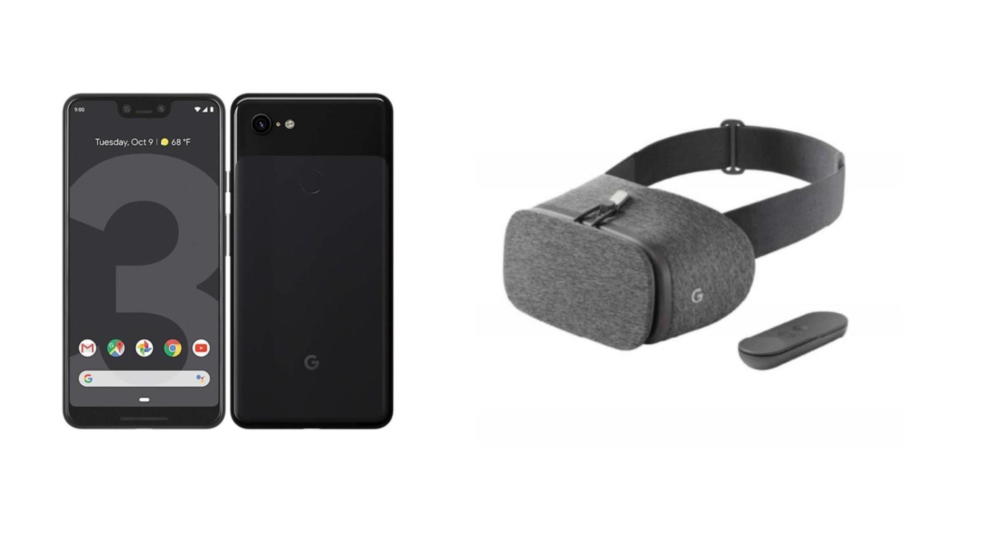 Le Google Pixel 3 XL deux fois moins cher qu'à sa sortie, avec un casque VR Daydream offert