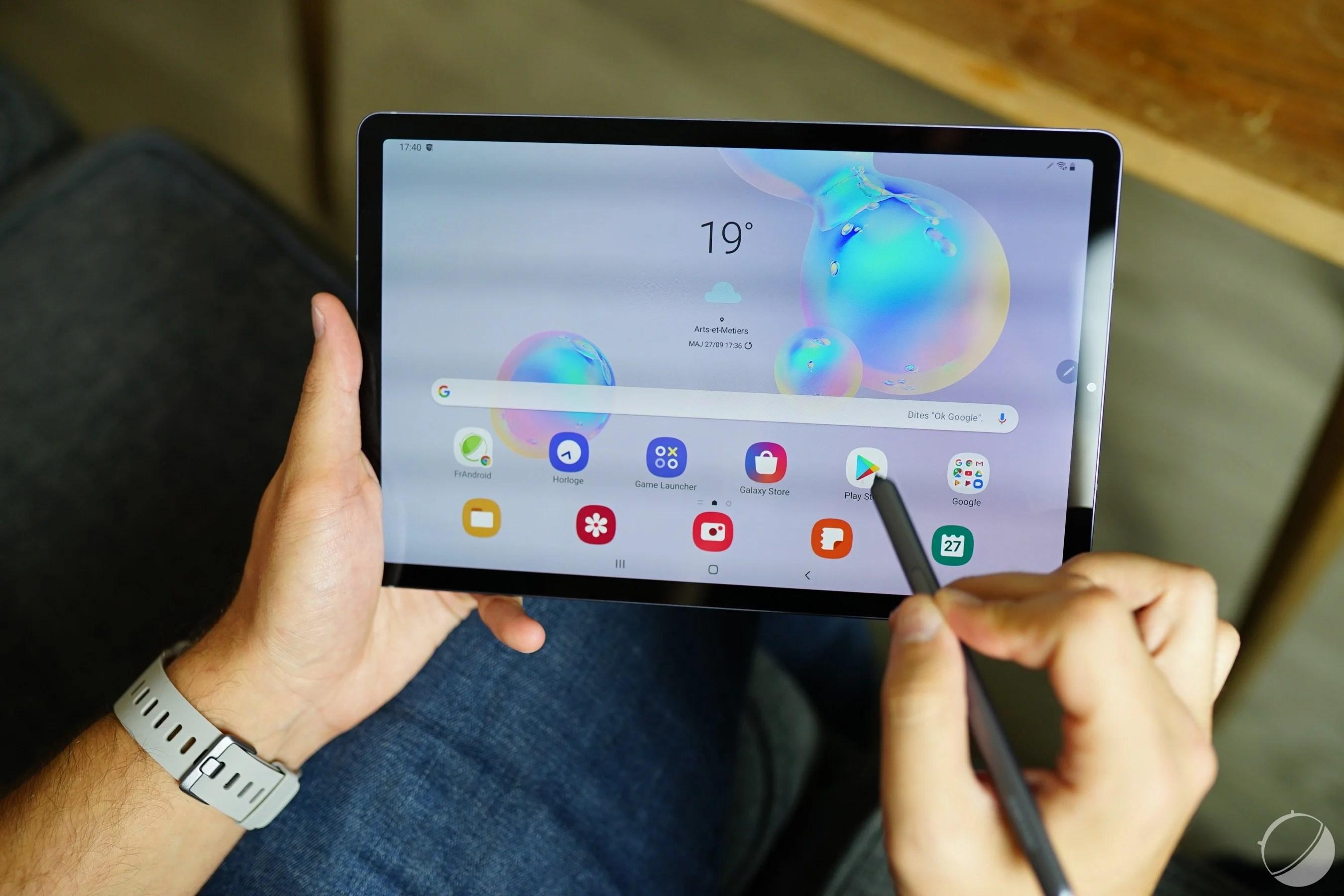 Samsung Galaxy Tab S7 et S7+ : une (bonne) partie de la fiche technique dévoilée