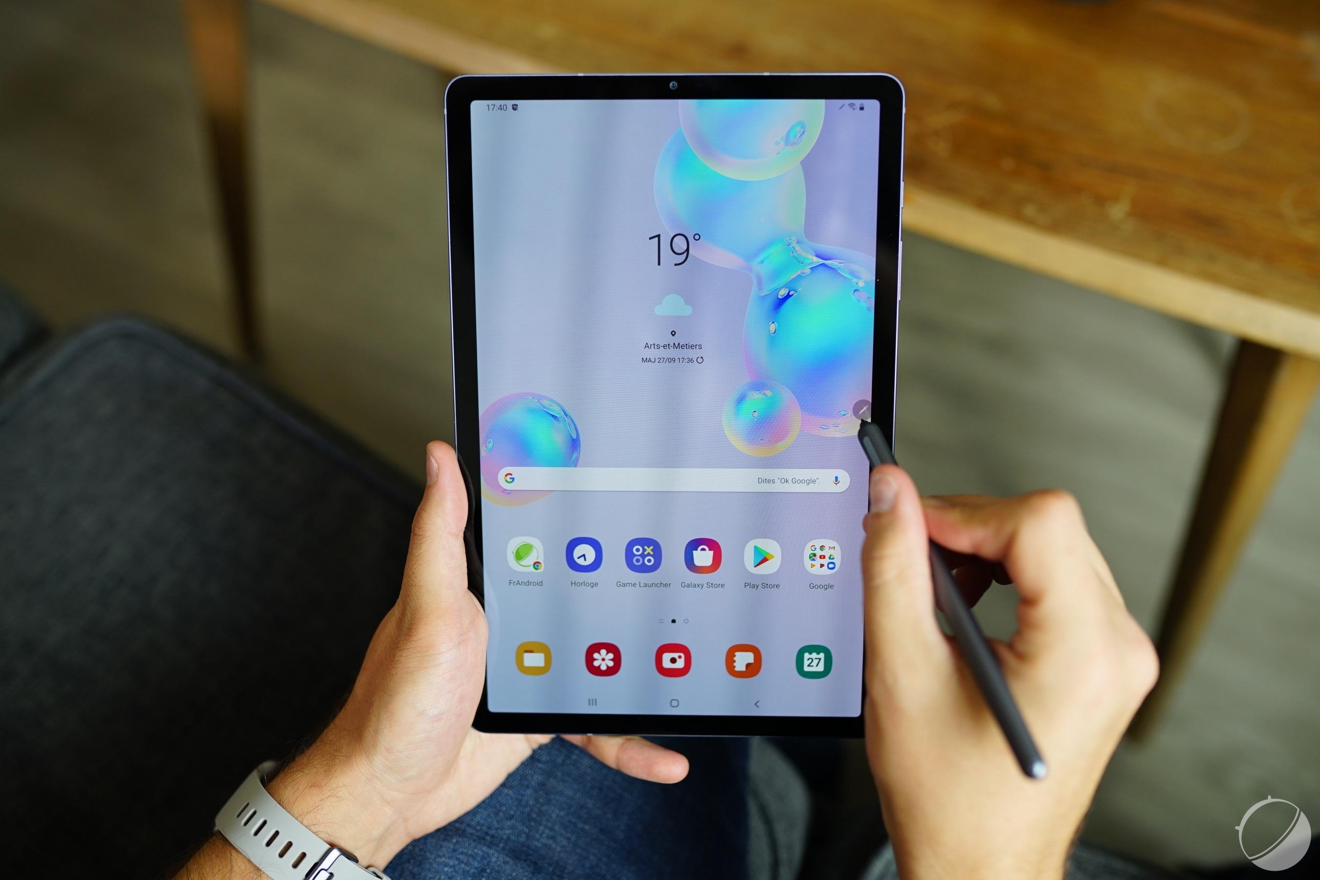 Samsung préparerait une nouvelle tablette Galaxy Tab A4 S milieu de gamme