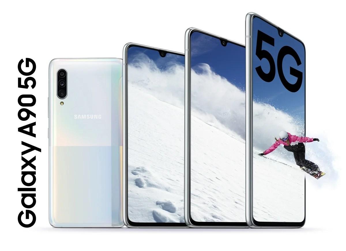 Samsung annonce le Galaxy A90 : performances premium pour un milieu de gamme