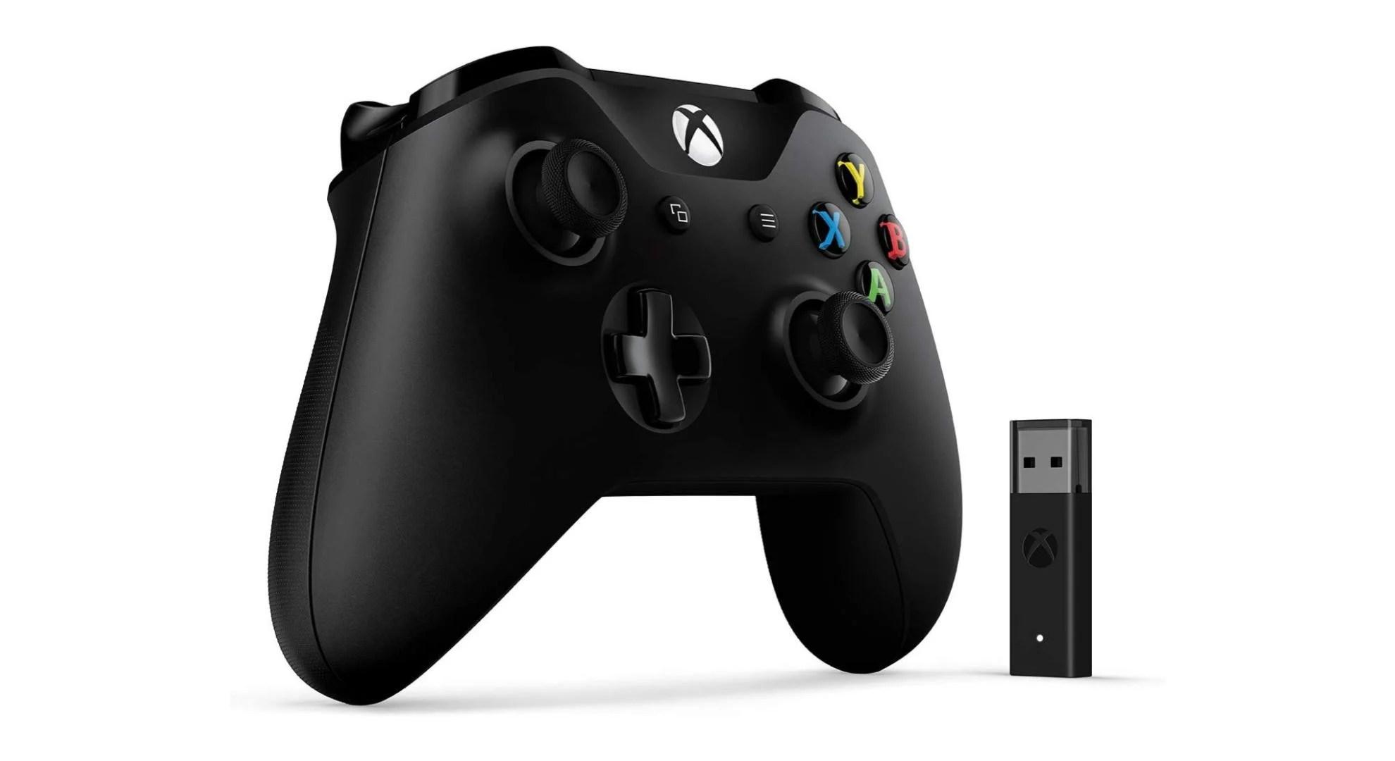 La manette Xbox One avec adaptateur sans fil pour PC passe à 39 euros
