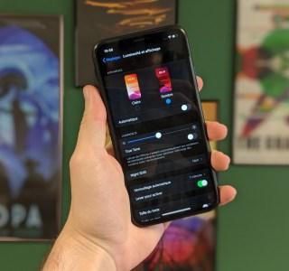 Comment activer le mode sombre sur iPhone ?