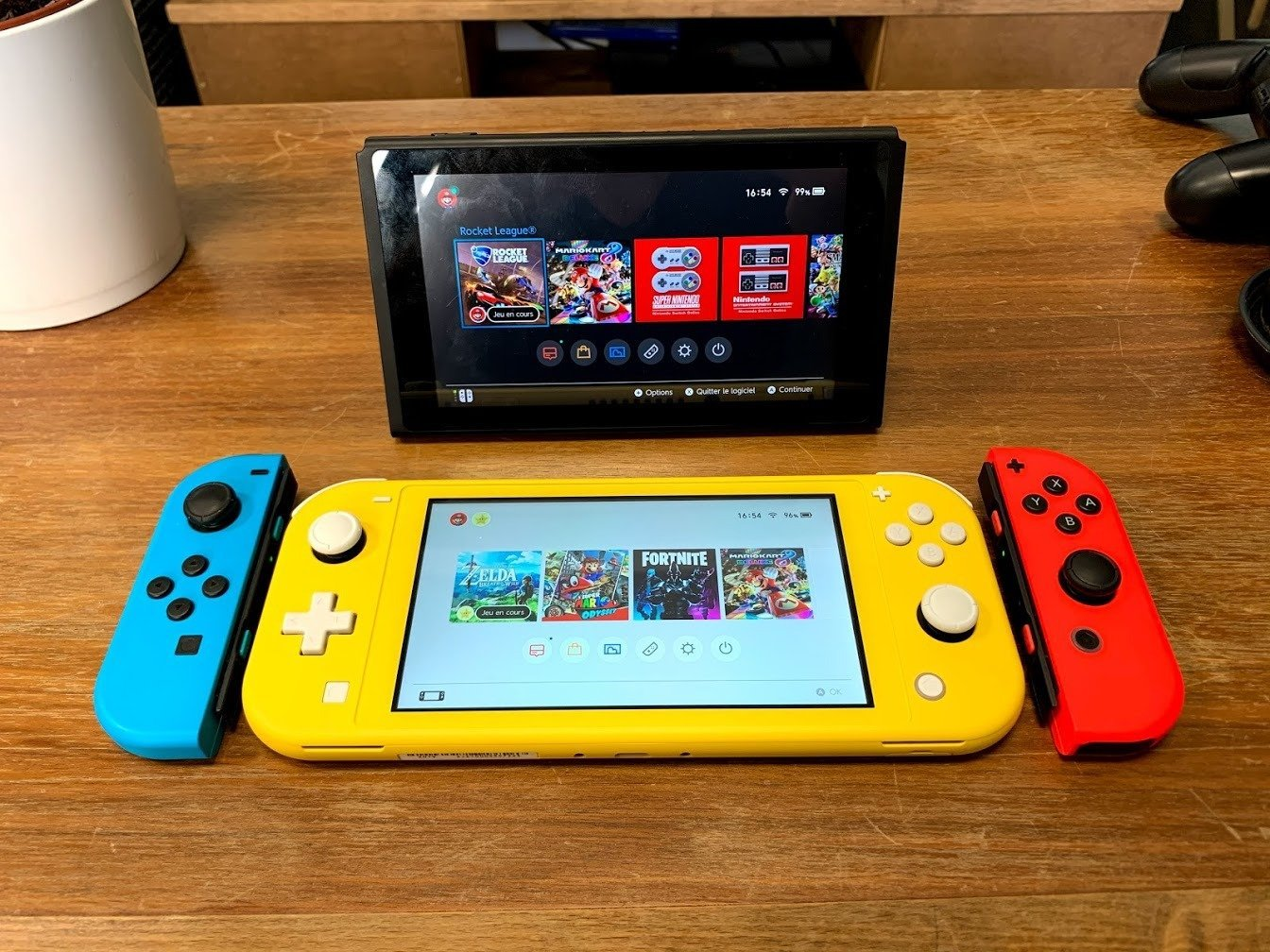 Nos photos de la Nintendo Switch Lite : on est déjà fans du format