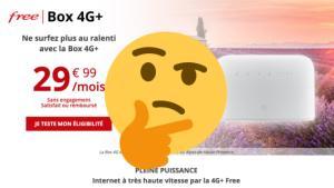 Nouvelle Box 4G+ de Free : est-ce que cette offre est intéressante ?