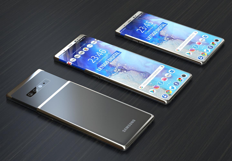 Samsung travaille sur un smartphone à écran extensible vers le haut