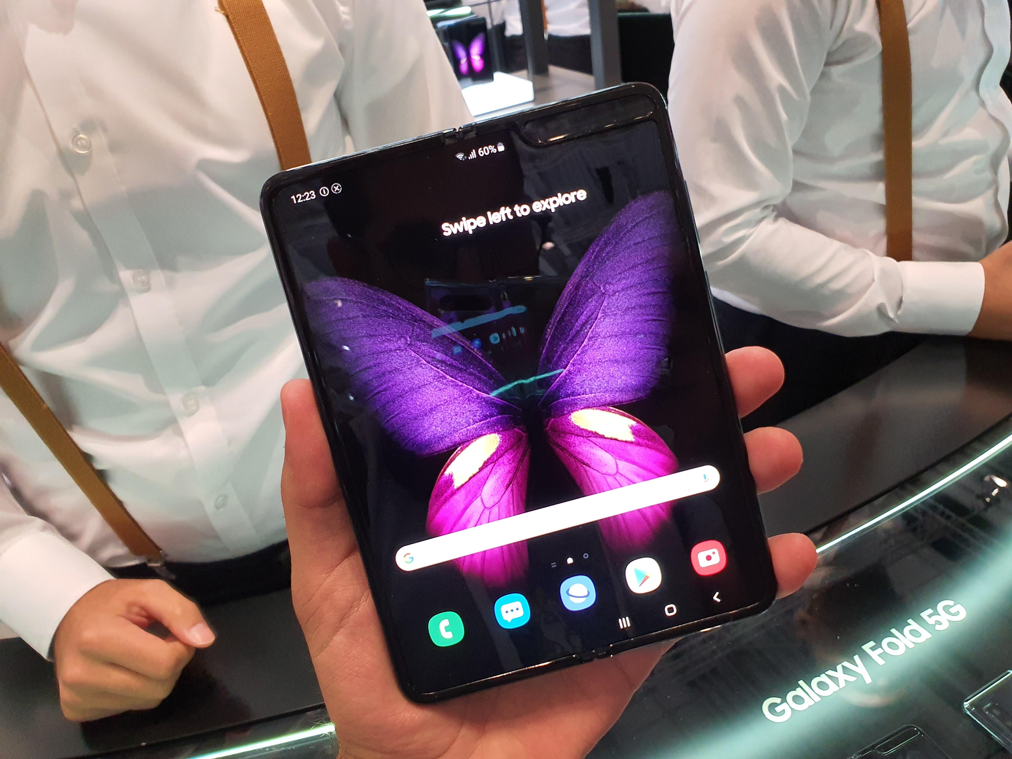 Galaxy Fold : des centaines d'applications populaires déjà optimisées selon Samsung