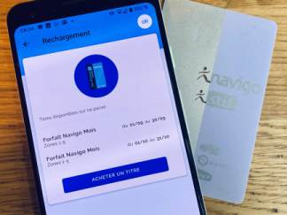Comment recharger son passe Navigo depuis son smartphone ?