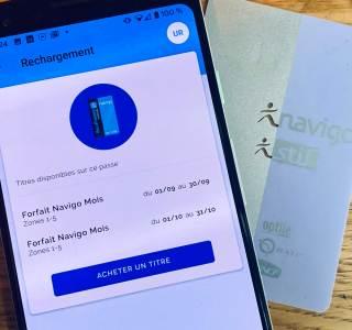 Comment recharger son pass Navigo depuis son smartphone ?