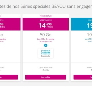 Forfait mobile : derniers jours pour l'offre Bouygues Telecom avec Internet illimité le week-end