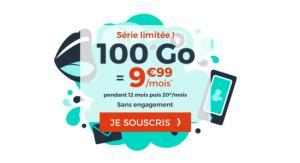 Forfait mobile : moins de 10 euros pour 100 Go, le tout via une offre sans engagement