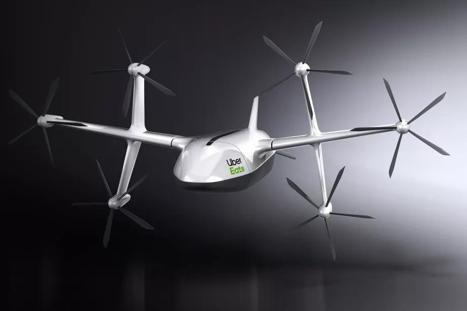 Uber Eats : ce drone veut livrer vos repas