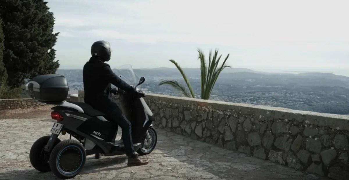 eccity Model3 : un scooter électrique français à trois roues prêt à en découdre